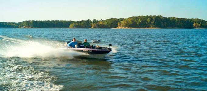 boating Kerr Lake