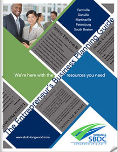 SBDC planning guide cover